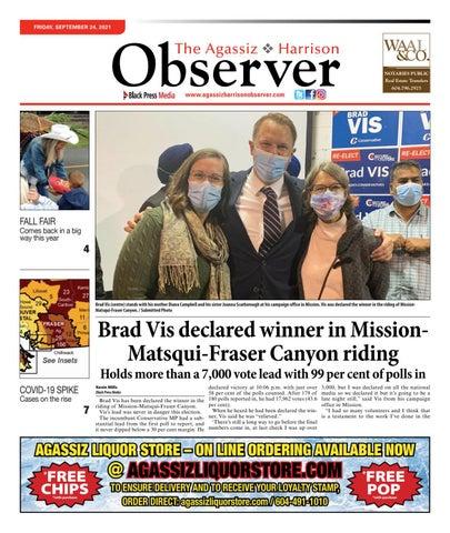 Agassiz Observer, September 24, 2021