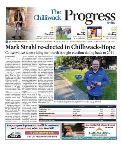 Chilliwack Progress, September 24, 2021