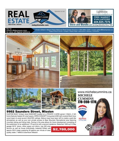 September 24, 2021 Real Estate Weekly - Abbotsford