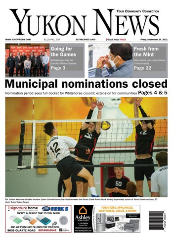 Yukon News, September 24, 2021