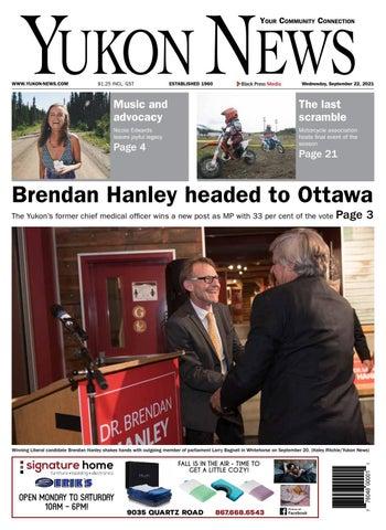 Yukon News, September 22, 2021