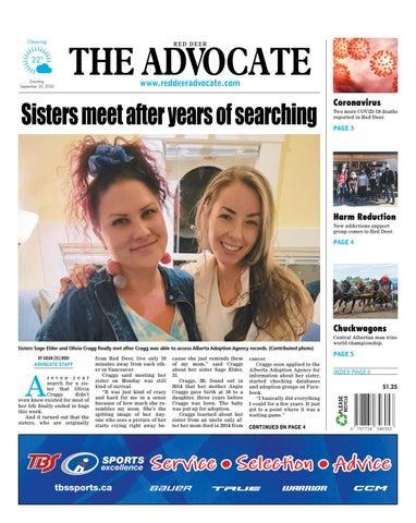 Red Deer Advocate, September 25, 2021