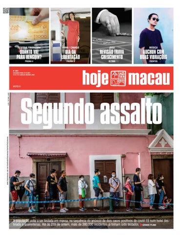 Hoje Macau 27 SETEMBRO 2021 #4860