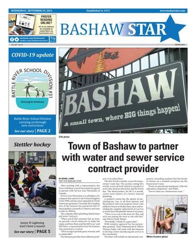 Bashaw Star, September 29, 2021