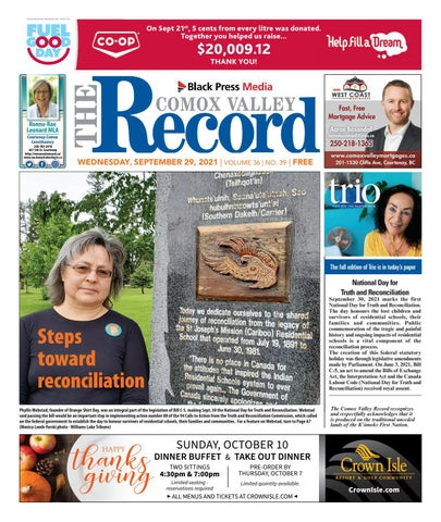 Comox Valley Record, September 29, 2021