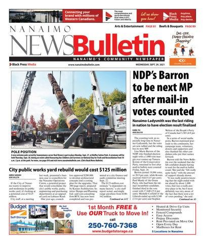 Nanaimo News Bulletin, September 29, 2021