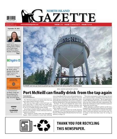 North Island Gazette, September 29, 2021