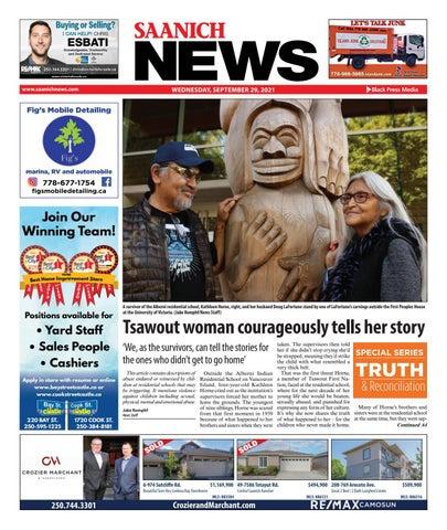 Saanich News, September 29, 2021