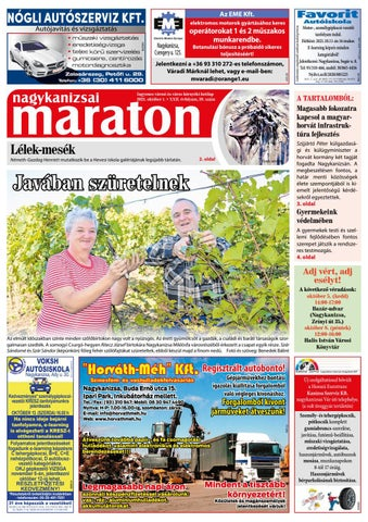 Nagykanizsai Maraton - 2021. 10. 01.