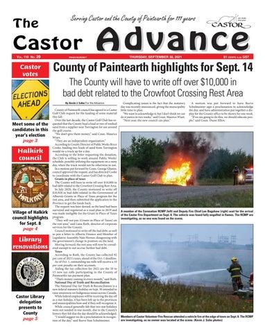 Castor Advance, September 30, 2021