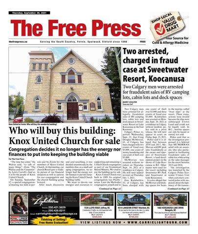 The Free Press, September 30, 2021