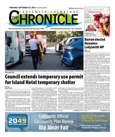 Ladysmith Chronicle, September 30, 2021