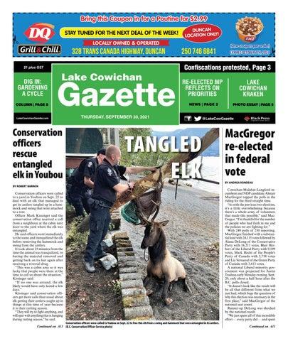Lake Cowichan Gazette, September 30, 2021