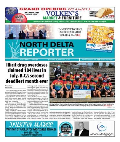 North Delta Reporter, September 30, 2021