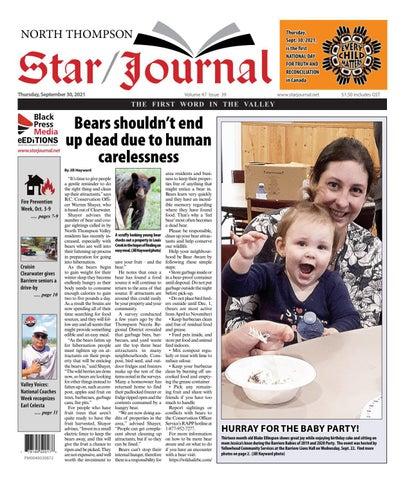 Barriere Star Journal, September 30, 2021