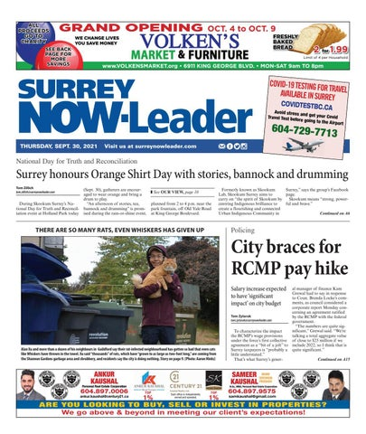 Surrey Now Leader, September 30, 2021