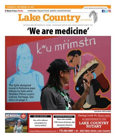 Lake Country Calendar, September 30, 2021
