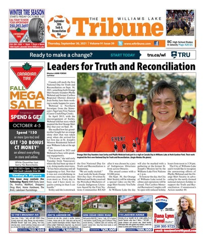 Williams Lake Tribune, September 30, 2021