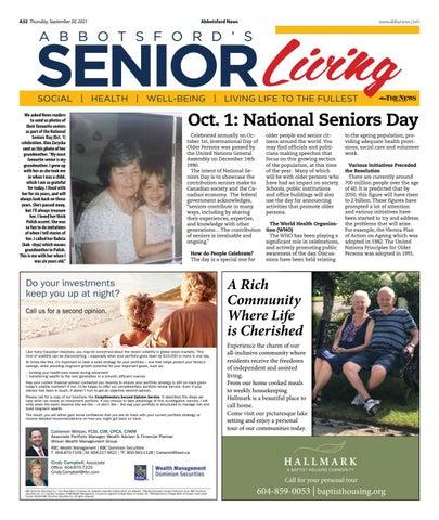 Senior Living September 2021