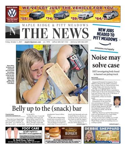 Maple Ridge News, October 1, 2021