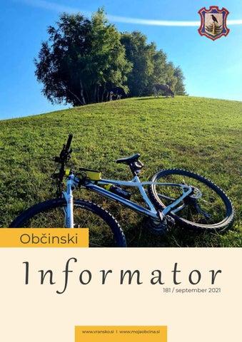 OBČINSKI INFORMATOR 181