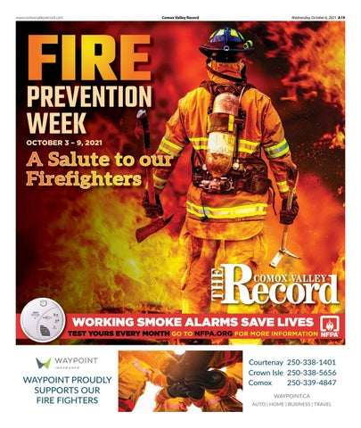 Comox Valley Fire Prevention Week Feature