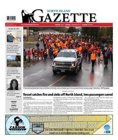 North Island Gazette, October 6, 2021