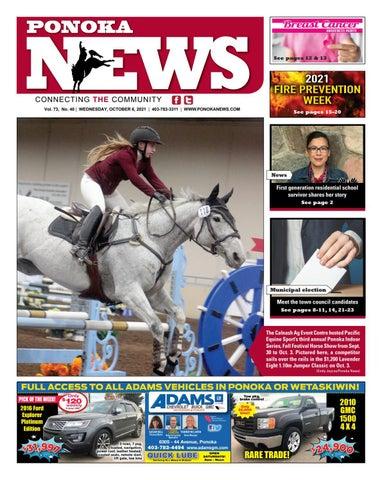 Ponoka News, October 6, 2021