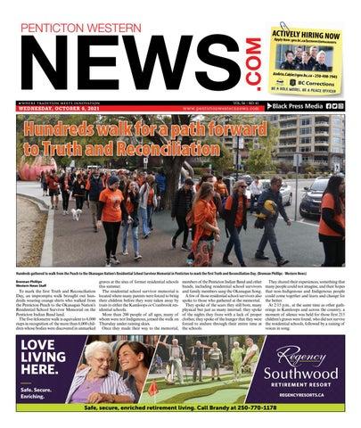 Penticton Western News, October 6, 2021