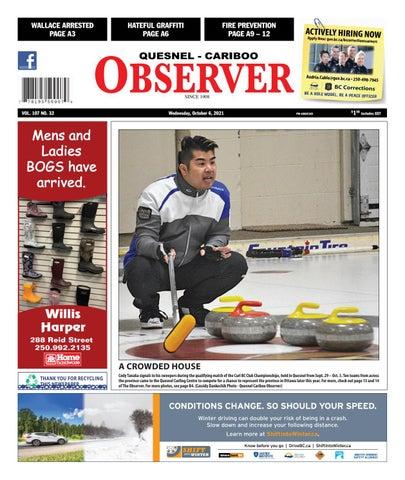 Quesnel Cariboo Observer, October 6, 2021