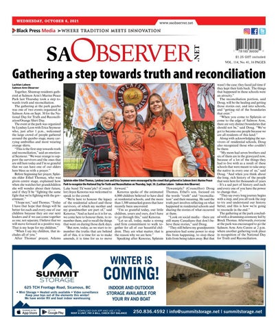 Salmon Arm Observer, October 6, 2021
