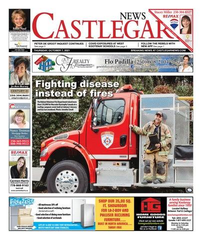 Castlegar News/West Kootenay Advertiser, October 7, 2021