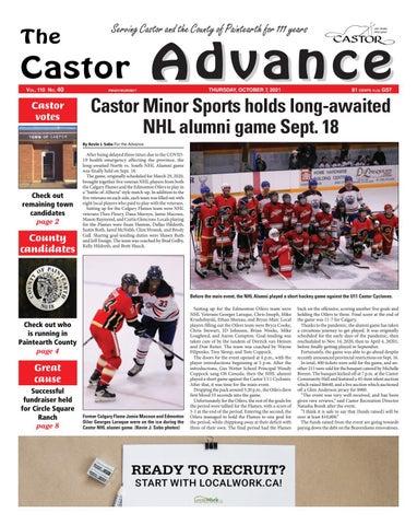 Castor Advance, October 7, 2021