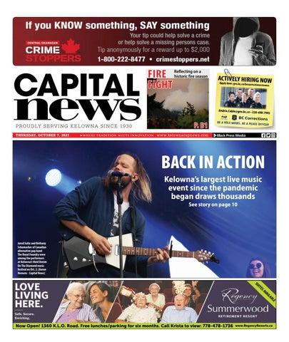 Kelowna Capital News, October 7, 2021