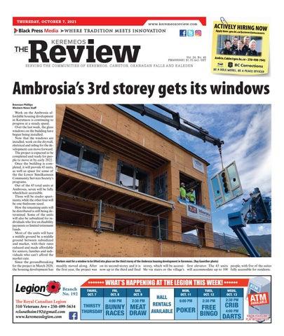 Keremeos Review, October 7, 2021