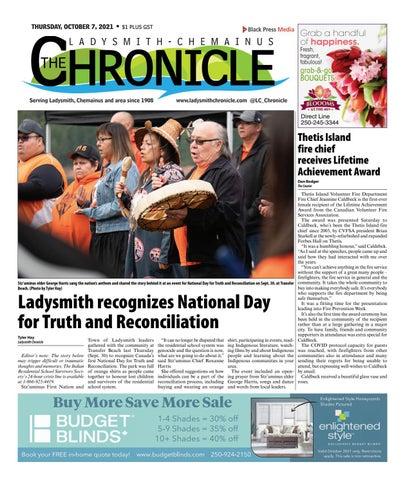 Ladysmith Chronicle, October 7, 2021