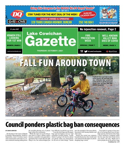 Lake Cowichan Gazette, October 7, 2021