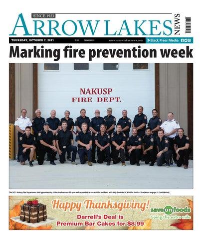 Arrow Lakes News, October 7, 2021