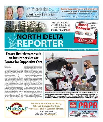 North Delta Reporter, October 7, 2021