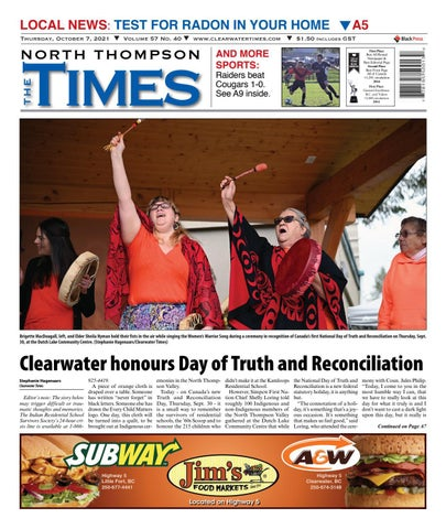 Clearwater Times, October 7, 2021