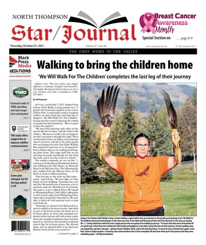 Barriere Star Journal, October 7, 2021