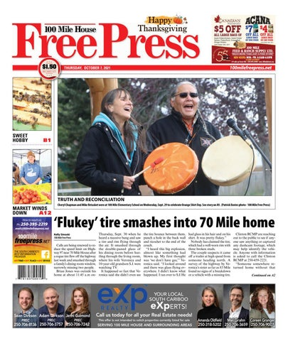 100 Mile House Free Press, October 7, 2021