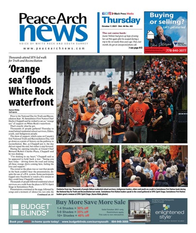 Peace Arch News, October 7, 2021