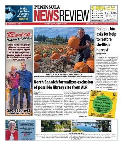 Peninsula News Review, October 7, 2021