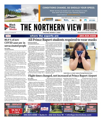 The Northern View/Northern Connector, October 7, 2021