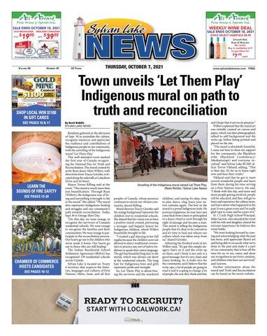 Sylvan Lake News, October 7, 2021