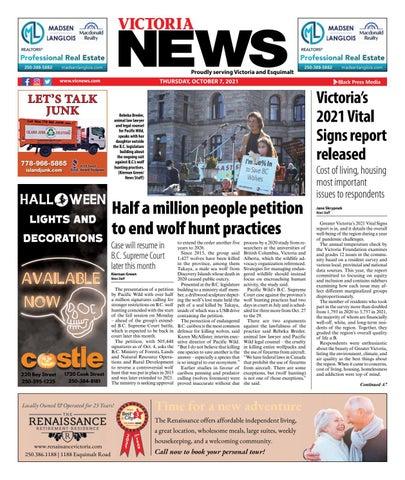 Victoria News, October 7, 2021