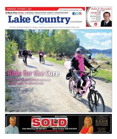 Lake Country Calendar, October 7, 2021