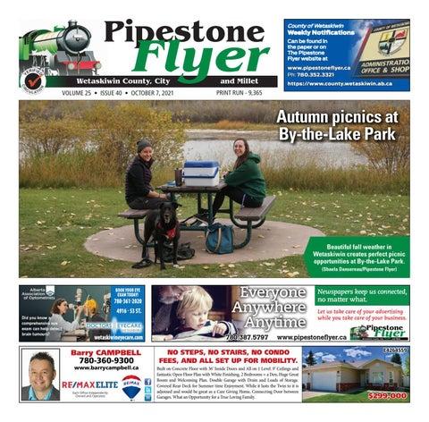 Wetaskiwin/Millet Pipestone Flyer, October 7, 2021