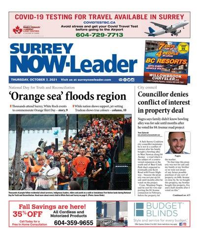 Surrey Now Leader, October 7, 2021